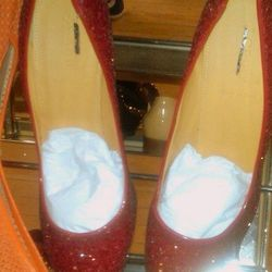 Dorothy's ruby slippers, $100