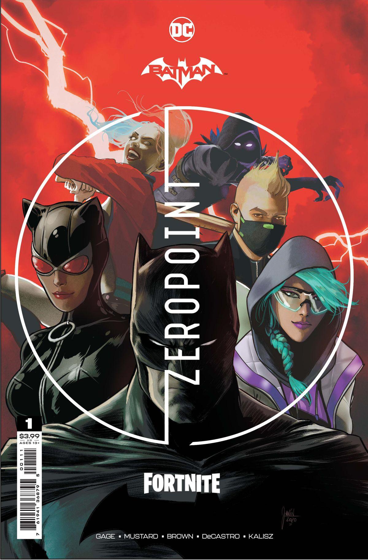 Cover art for Batman/Fortnite: Zero Point #1