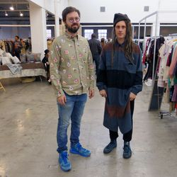 A Current Affair founders Richard Wainwright of NEW/FOUND and Joey Grana of Scout boutique.