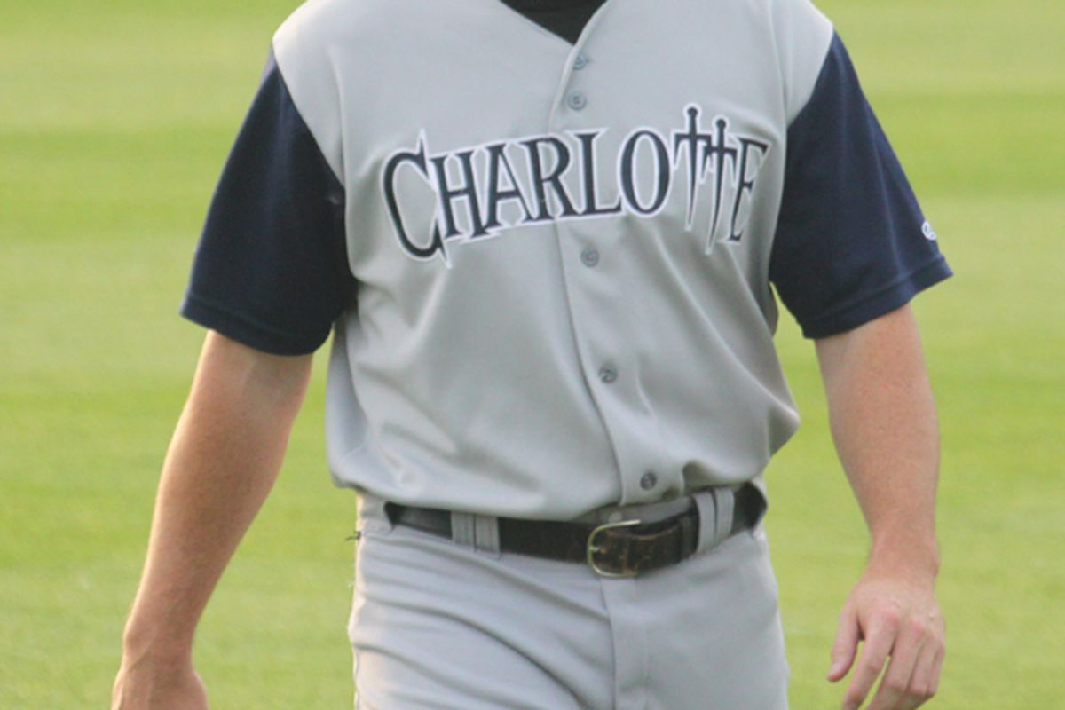 Mark Teahen probably won't be wearing this uniform for long.