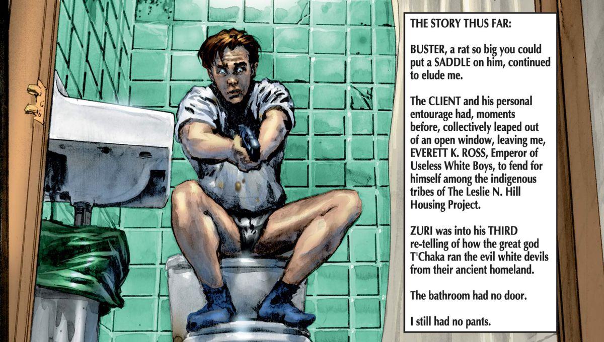 Everett K. Ross in Black Panther, Marvel Comics, 1998.