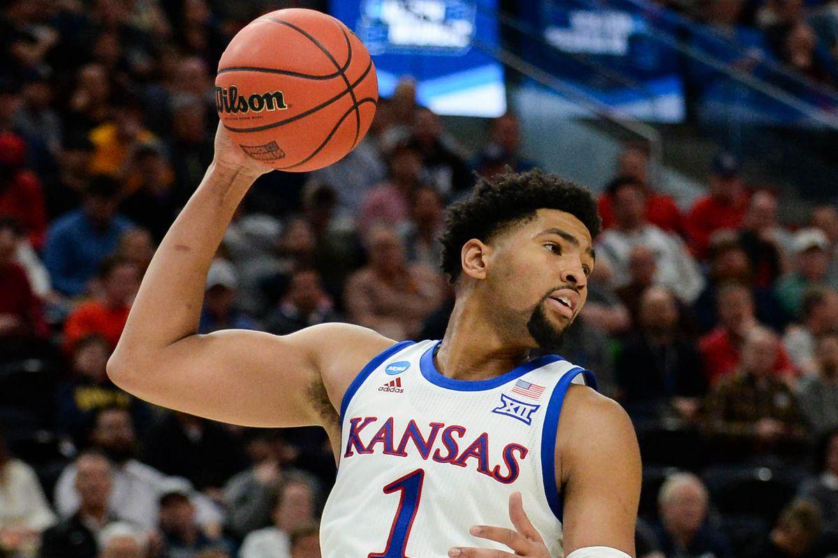 NCAA Basketball: NCAA Tournament-First Round-Kansas vs Northeastern