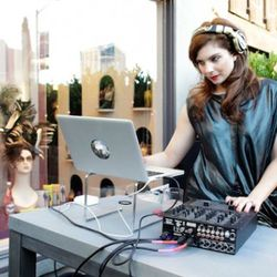 Louboutin's stylish DJ
