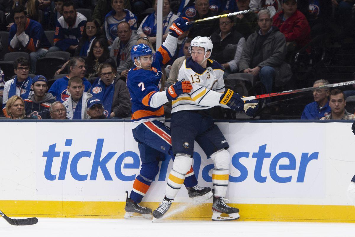 NHL: DEC 14 Sabres at Islanders