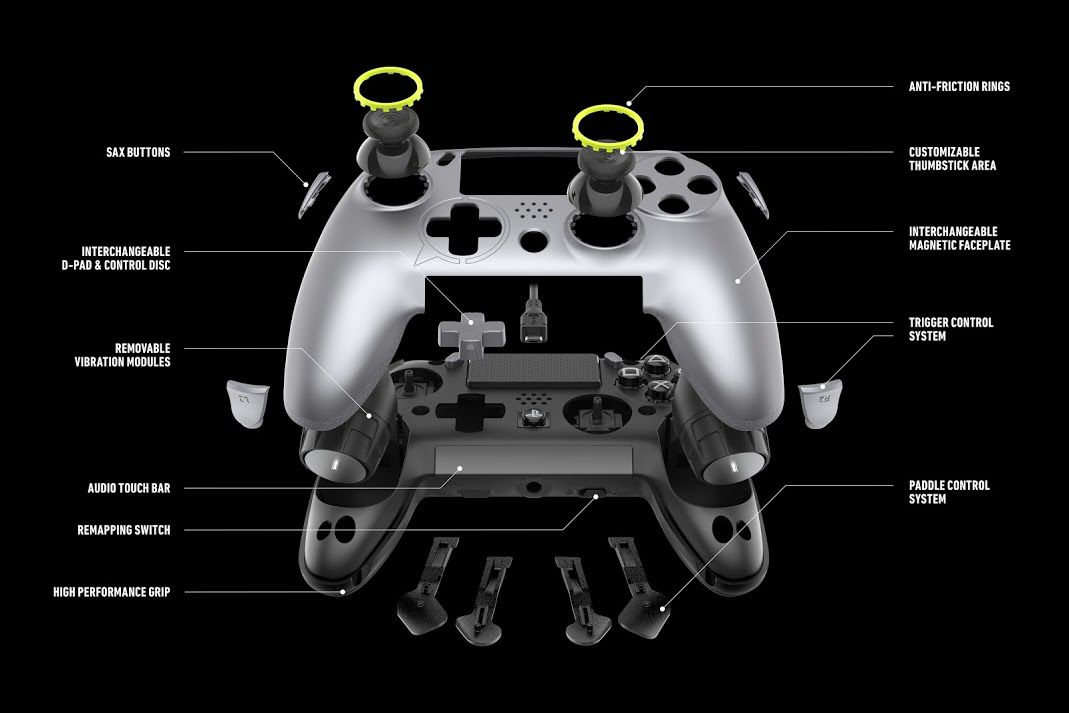 Scuf's new PS4 controller adds wireless play and new customizable
