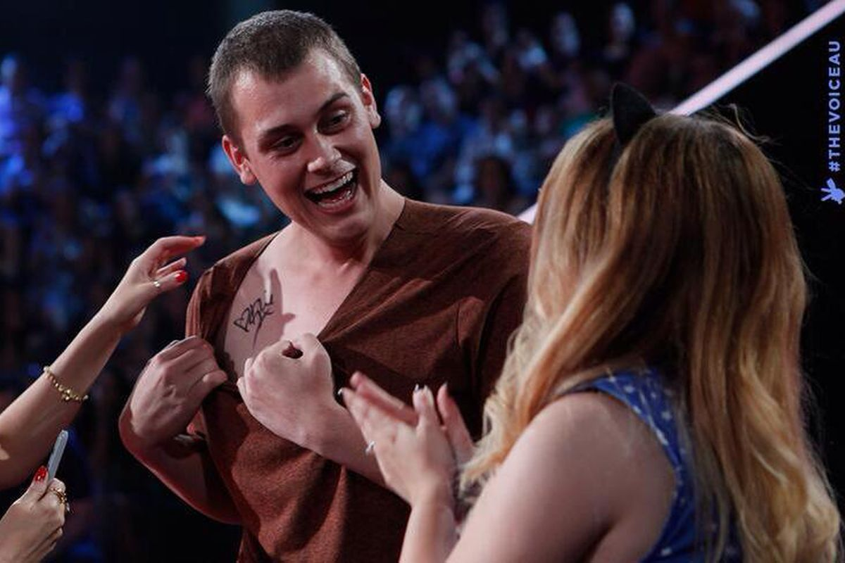 """Rhyian Anderson-Morley on Australia's """"The Voice."""""""