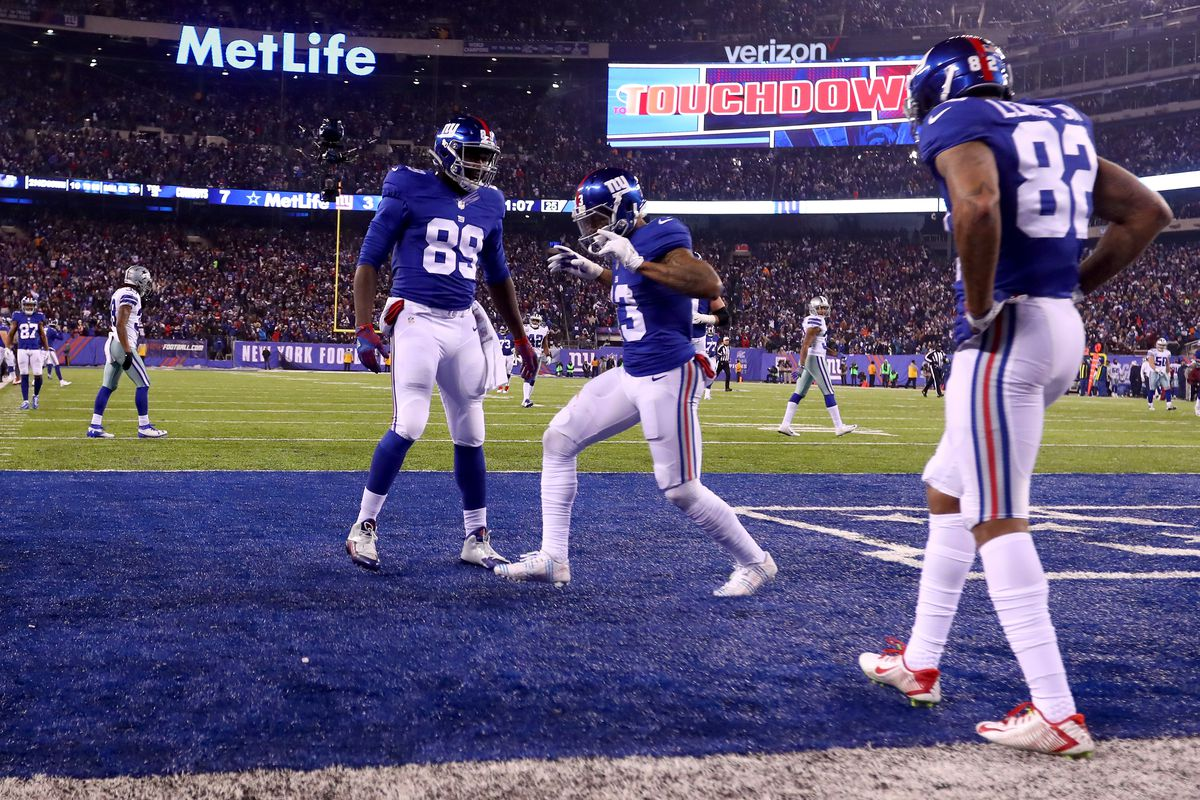 Cowboys Vs Giants Live Scores Highlights Updates And