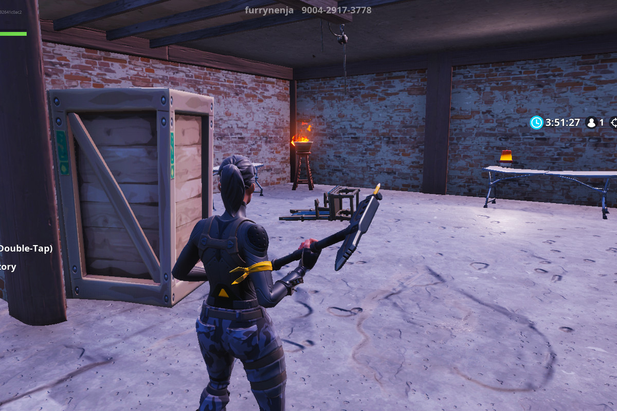 the block has reverted - fortnite 2 player maps