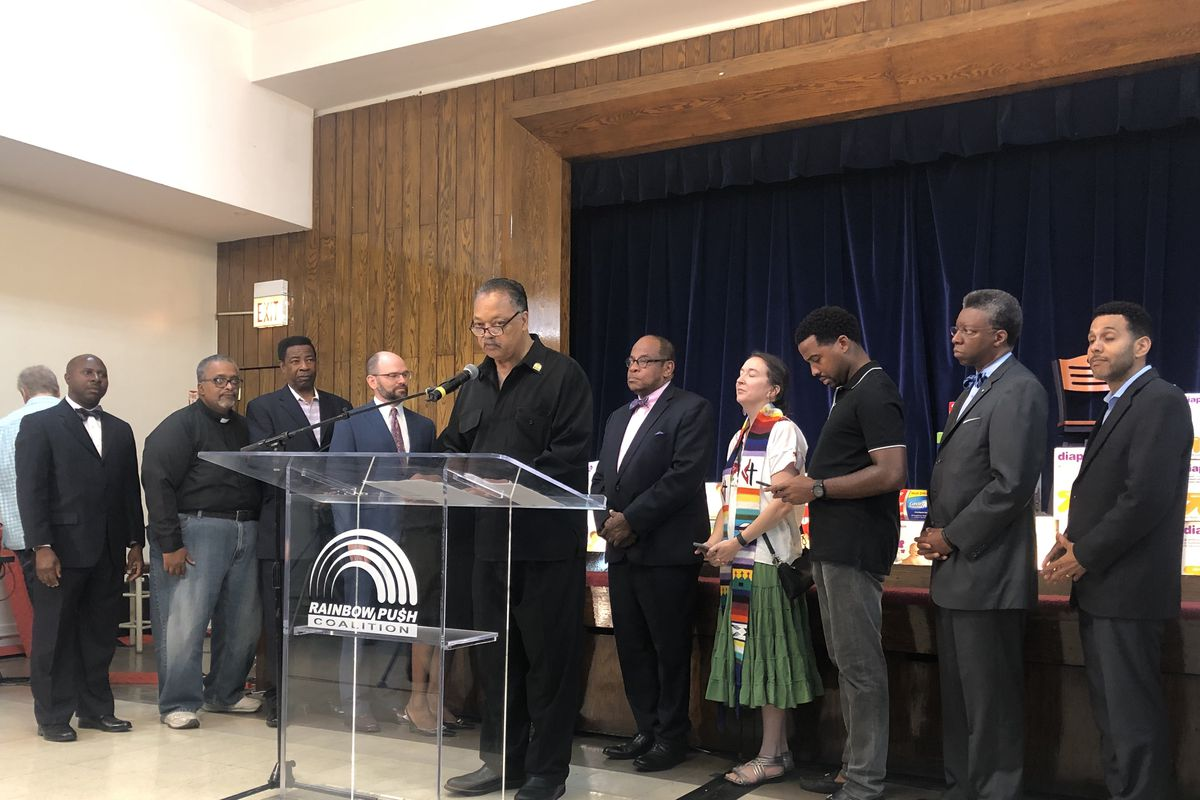 "Rev. Jesse Jackson urges to ""counterattack the attack"" on immigrants"