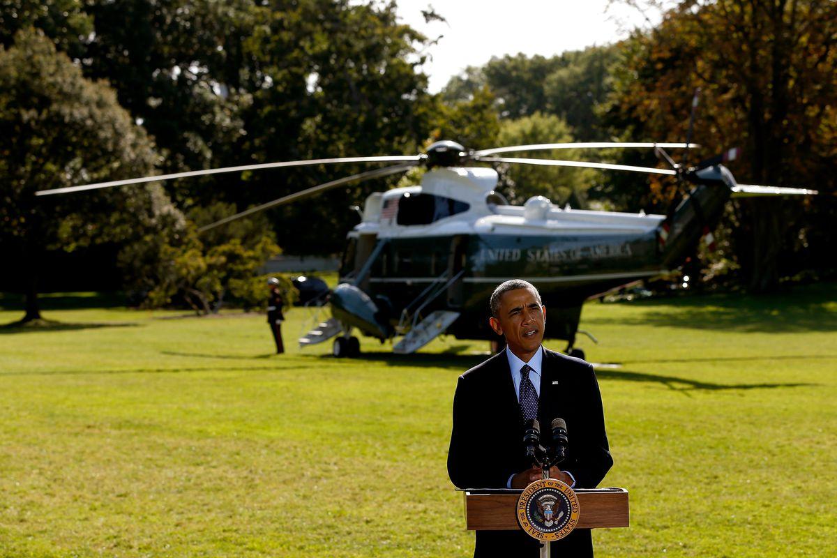 President Obama talks ISIS.