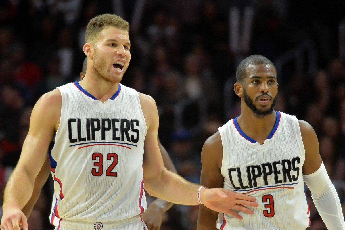 Chris Paul, Blake Griffin Both Out Indefinitely - Blazer's ...