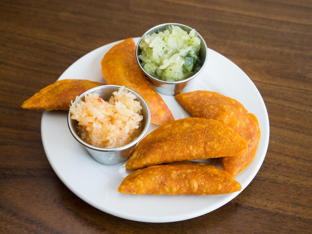 A plate of panades.