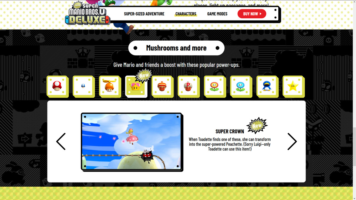 A screenshot of Super Crown details