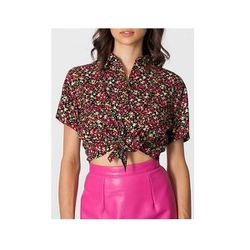 """Floral Mid-Length Tie-Up Blouse, $46 at <a href=""""http://store.americanapparel.net/product/?productId=rsa0367"""">American Apparel</a>"""