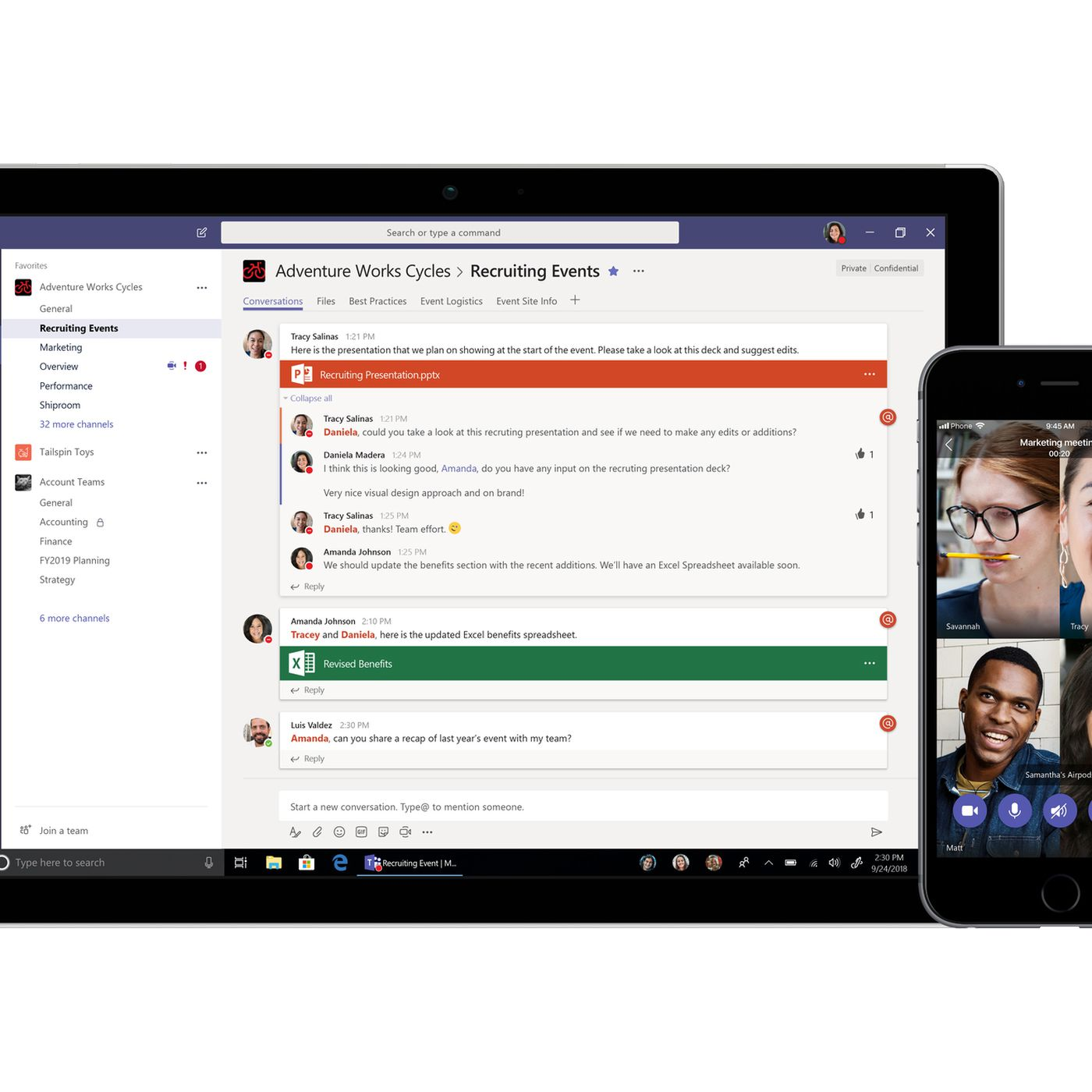 Microsoft matches Slack with a free version of its Teams