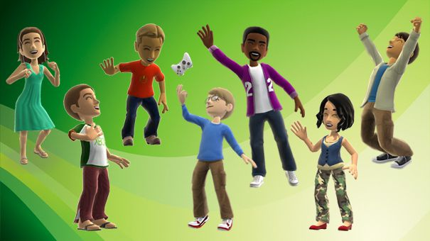 Microsoft Xbox 360 avatars