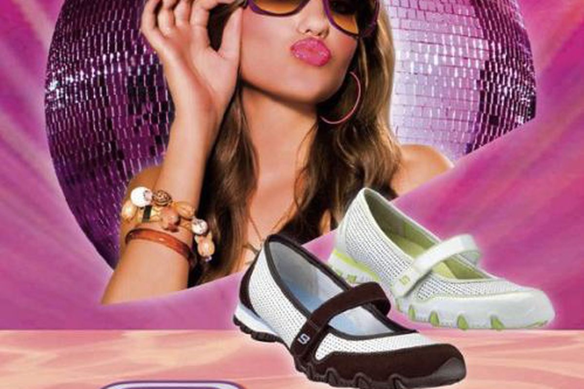 An ad image Reinsdorf shot for Skechers