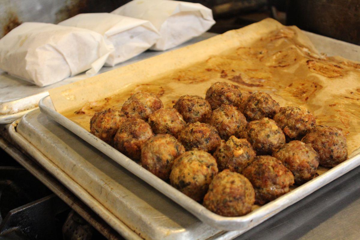 Meatballs at Mama's