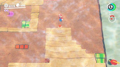 Super Mario Odyssey guide: Seaside Kingdom all power moon