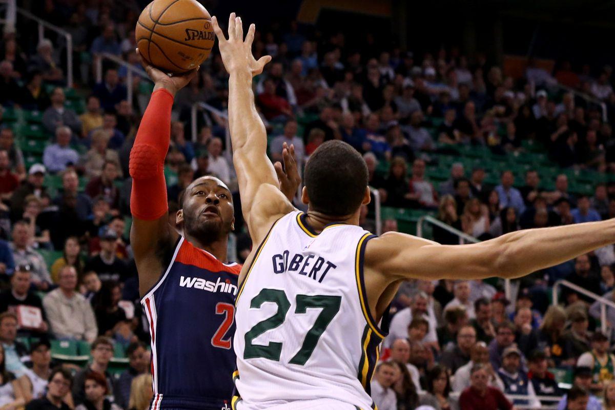 NBA: Washington Wizards at Utah Jazz