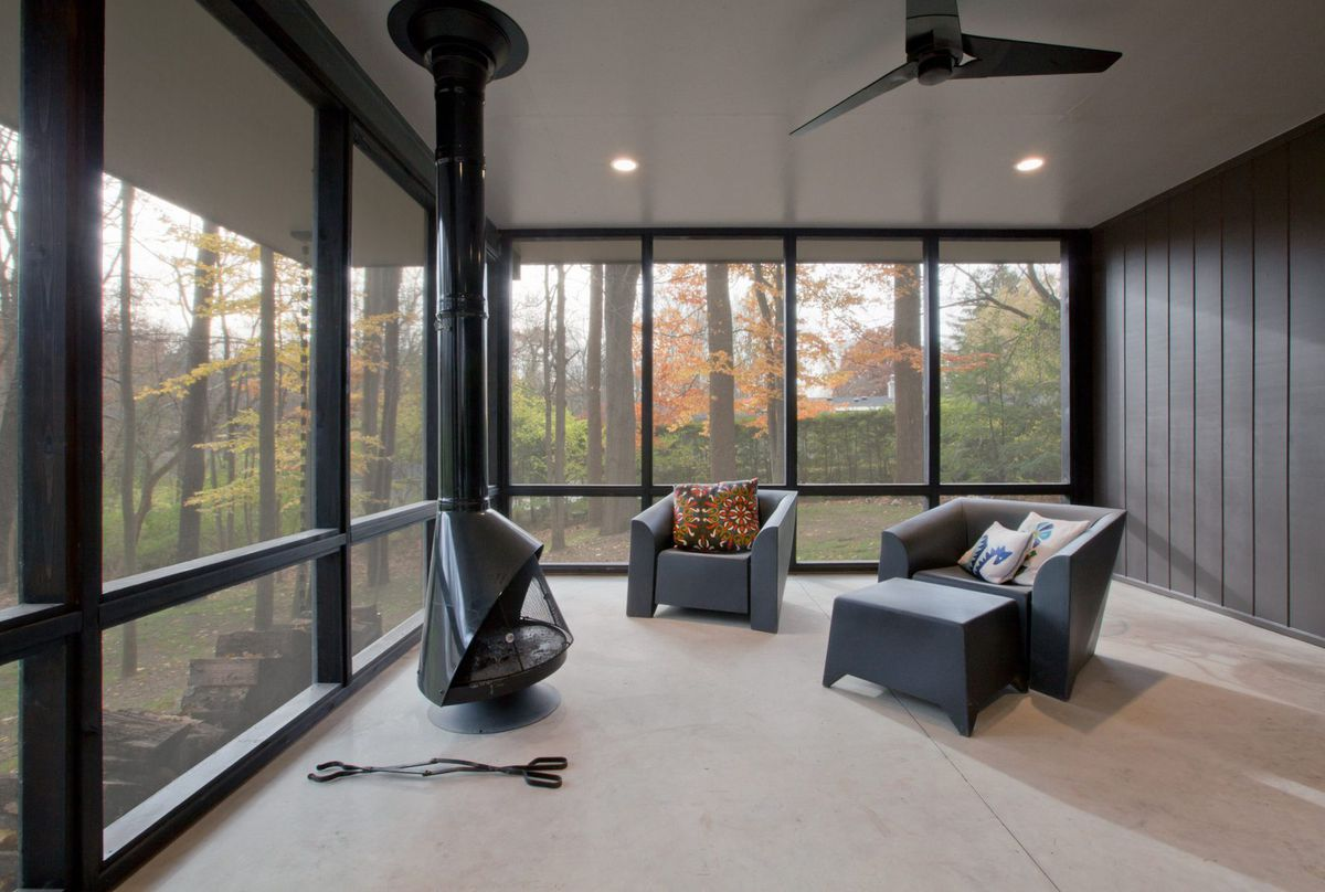Haus Interior Design 1950s home gets contemporary overhaul in indiana curbed