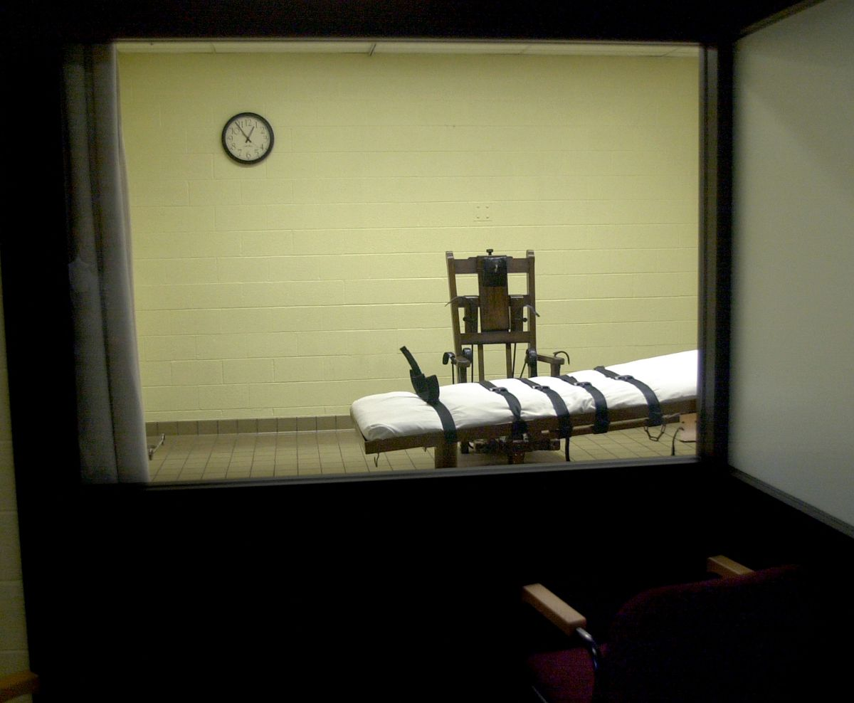 A death chamber in Ohio.