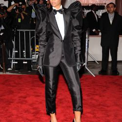 Rihanna in Dolce & Gabbana in 2009.