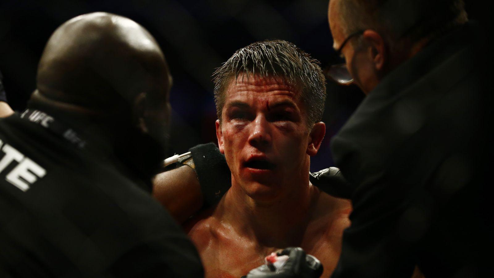 UFC on ESPN+ 1 injurie...
