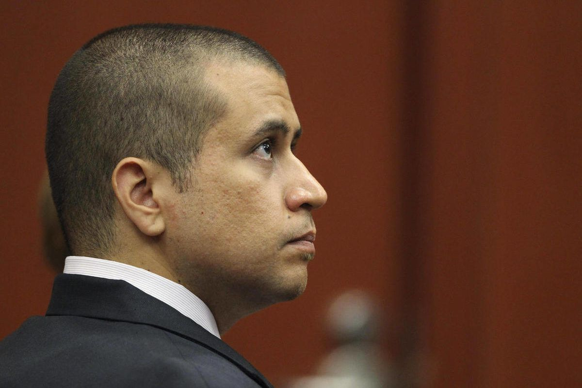 FILE - In this April 20, 2012 file photo, George Zimmerman appears before Circuit Judge Kenneth R. Lester Jr. during a bond hearing in Sanford, Fla. Zimmerman's attorney was still working Sunday to secure the money for bail and a safe place for the 28-yea