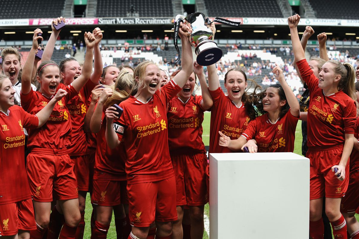 Everton Ladies v Liverpool Ladies - FA Girl's Youth Cup Final