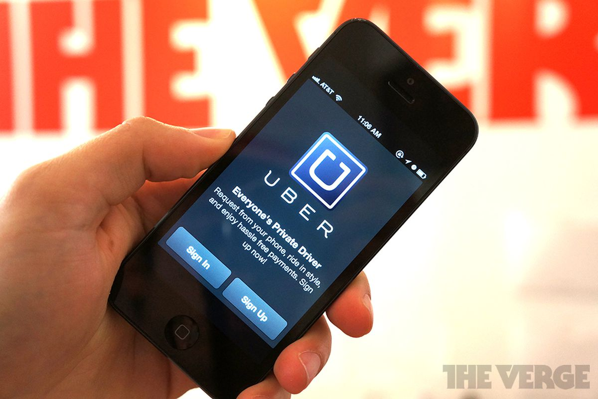 Uber for iPhone