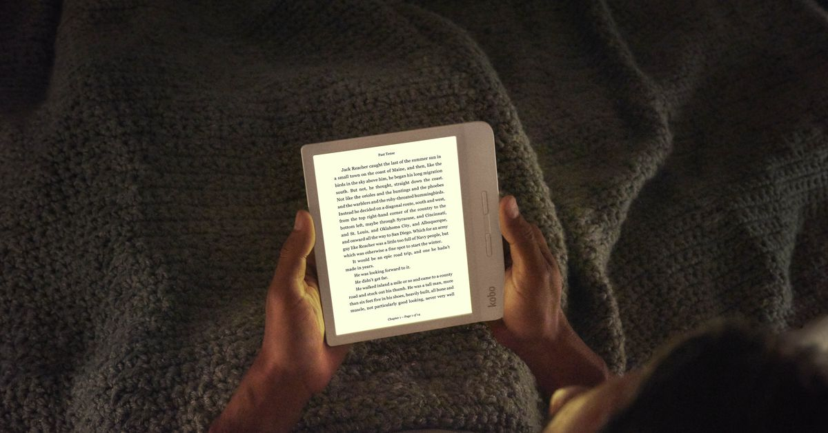 Kobo's new Libra H20 is like a cheaper Kindle Oasis