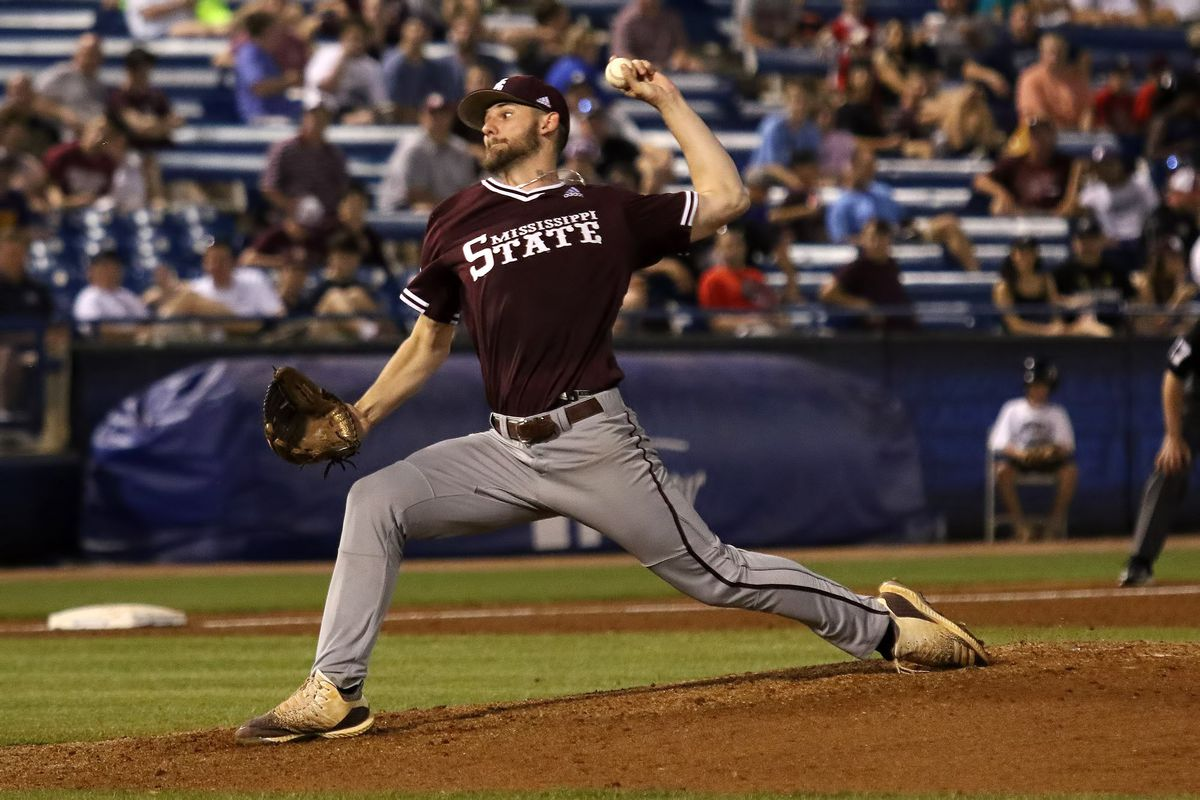 Mississippi State Drops 1-0 Pitchers' Duel With Top-seeded