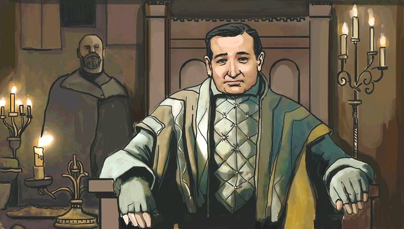 Ted Cruz imagined as Walder Frey