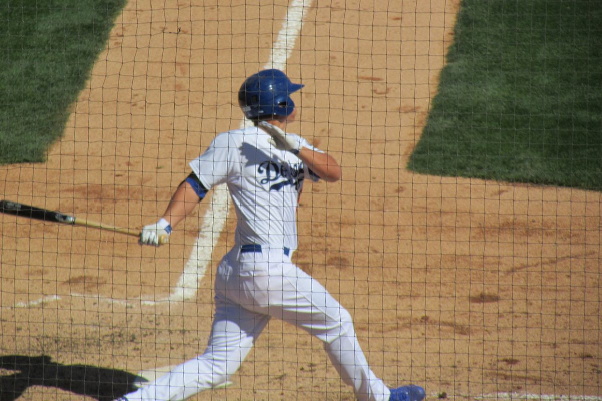 Corey Seager was ranked the No. 37 prospect in baseball by John Sickels at Minor League Ball