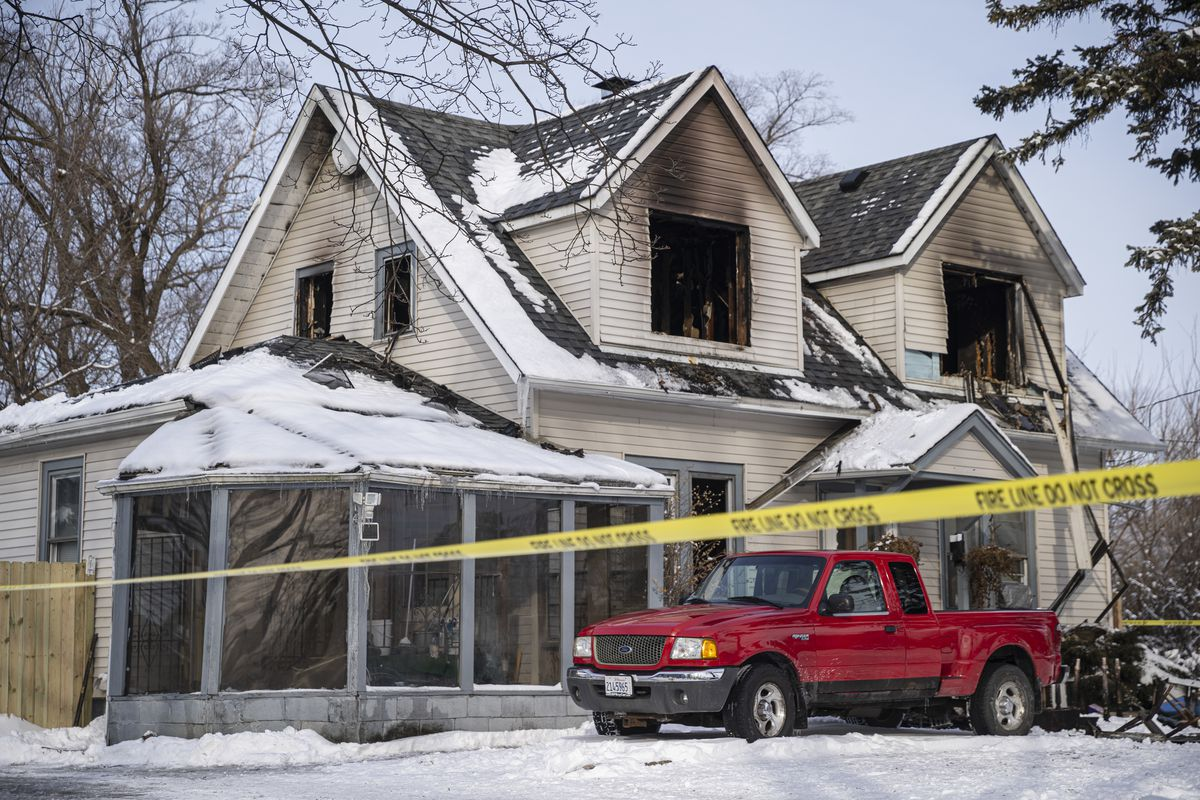 Four children and an adult died in a Des Plaines house fire Jan. 27, 2021.