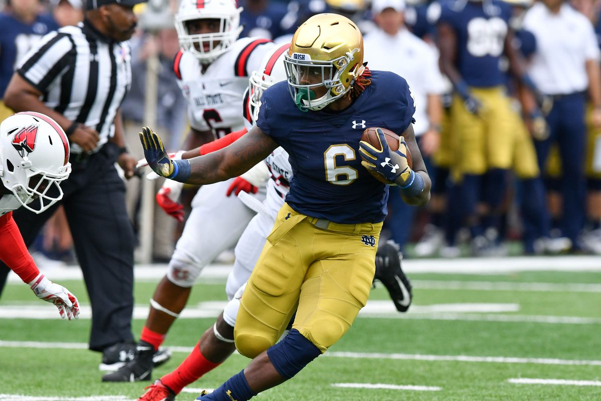 NCAA Football: Ball State at Notre Dame