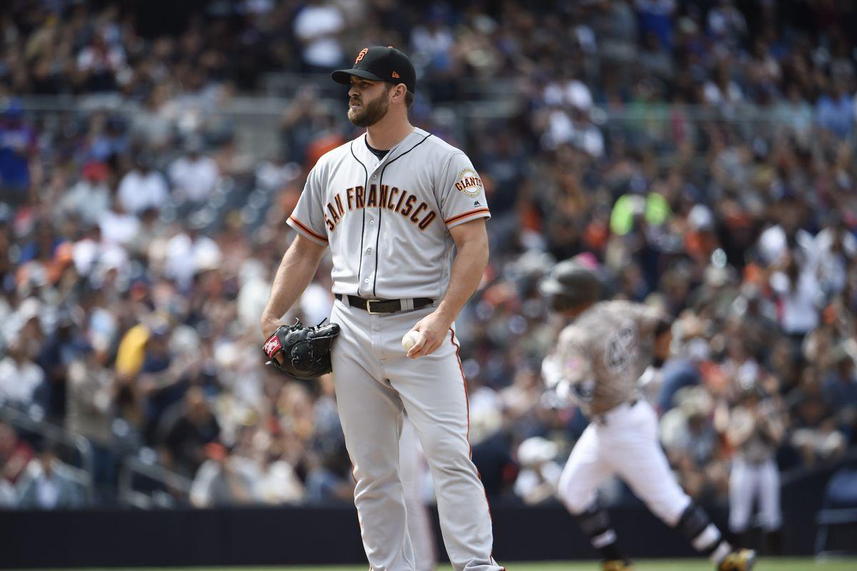San Franciso Giants v San Diego Padres