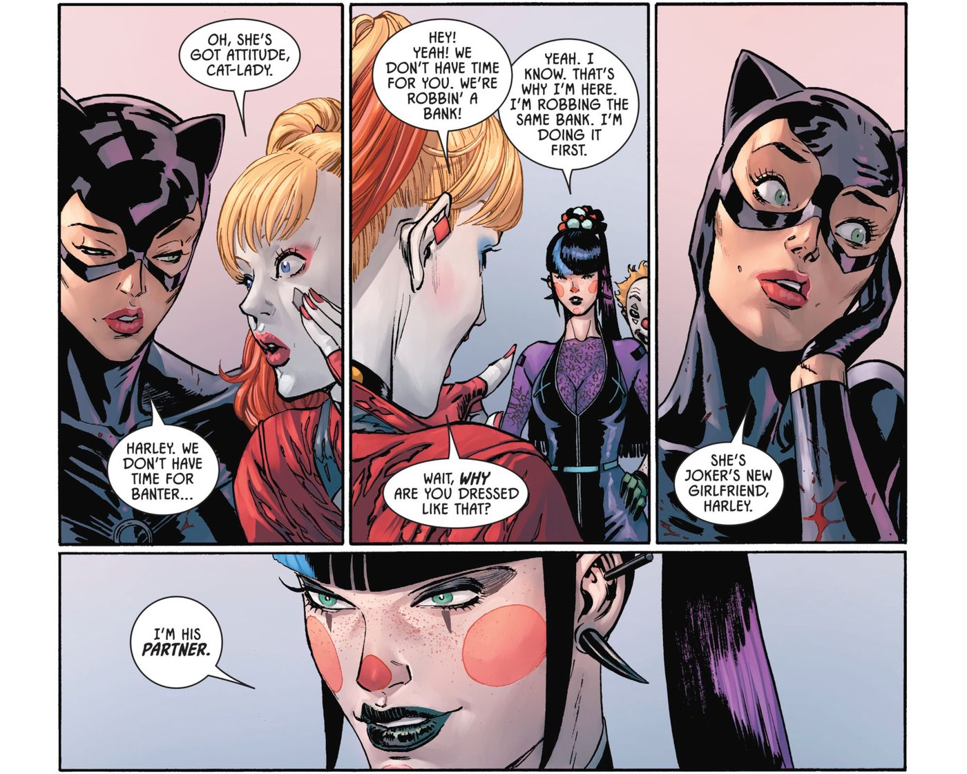 Who Is Punchline Joker Replaced Harley Quinn With A College Agitator Polygon