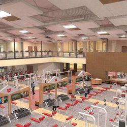 Artist rendering of the University of Utah's new George S. Eccles Student Life Center.