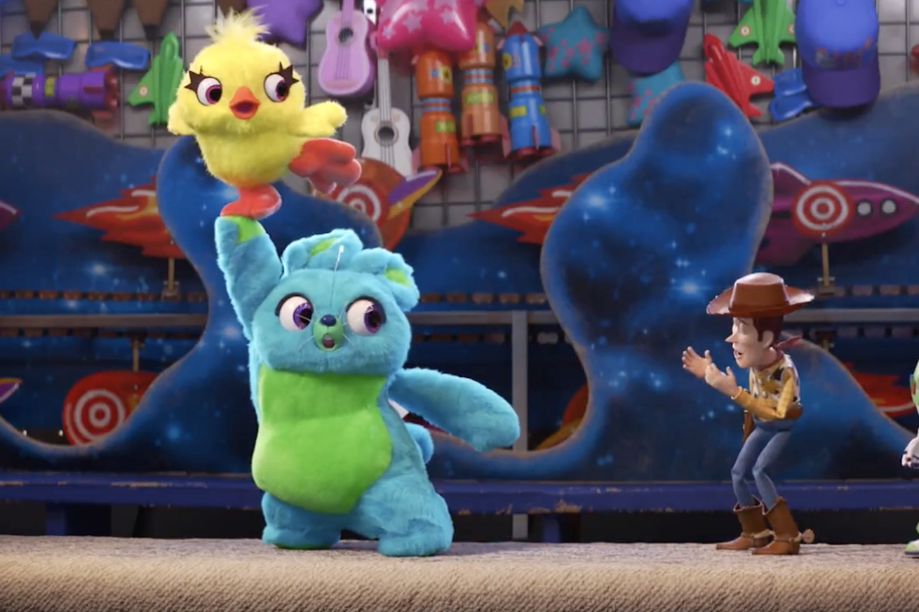 toy story 4 s latest teaser is a trailer reaction video starring key and peele
