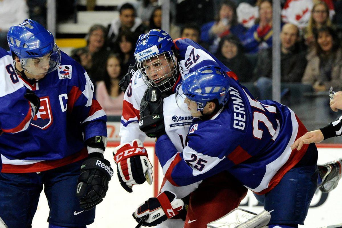 Radek Faksa and the Czechs take on the USA in the quarter-finals