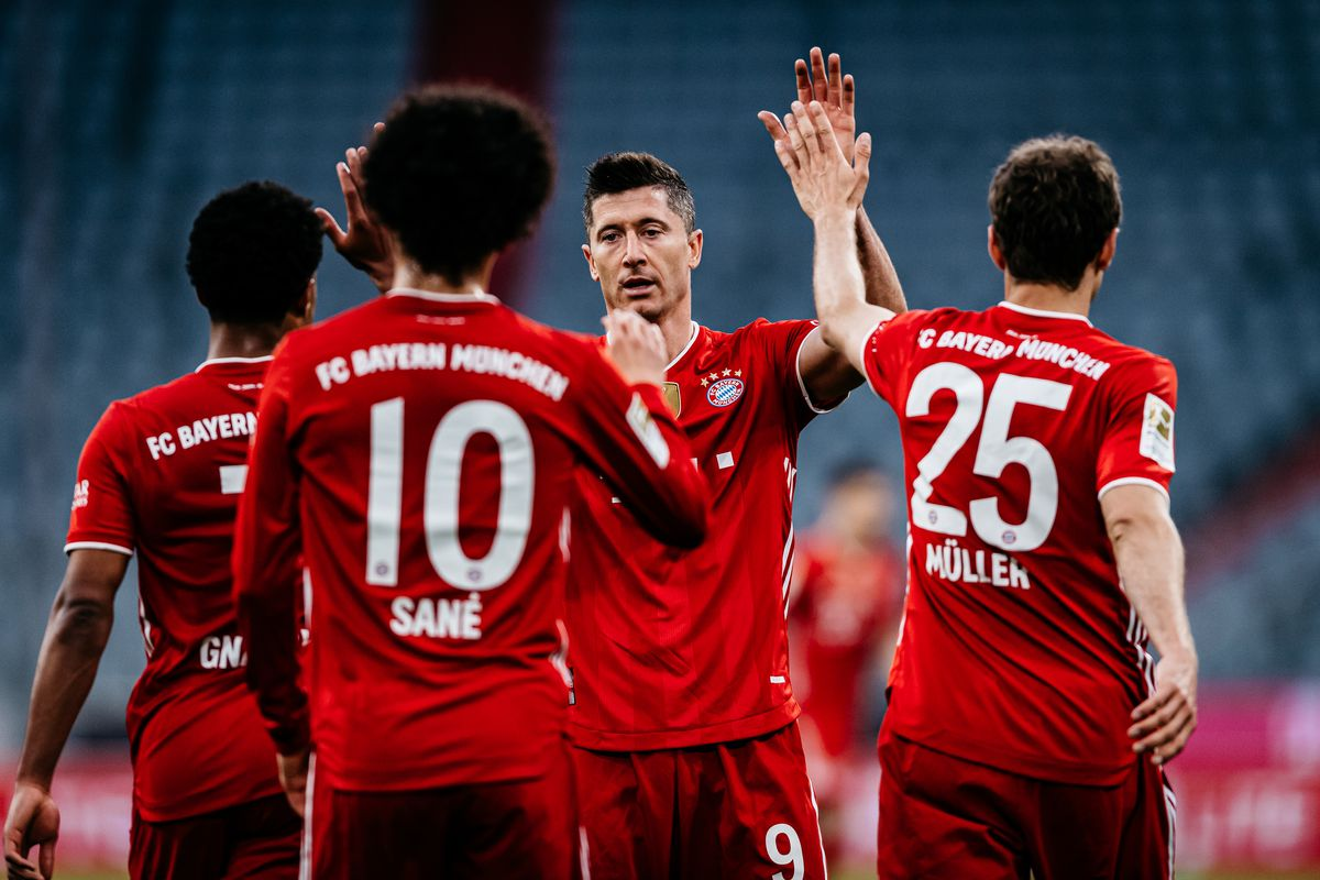 FC Bayern Muenchen v Borussia Moenchengladbach - Bundesliga for DFL