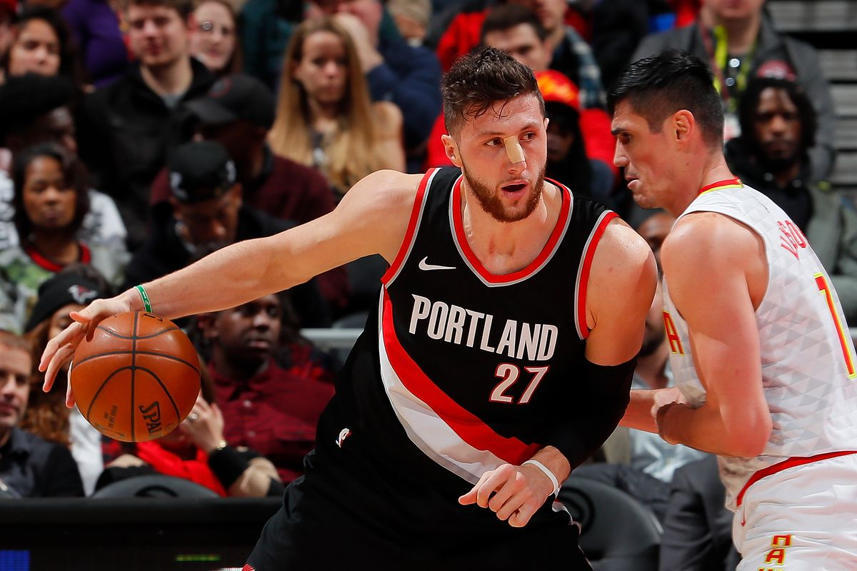 """9c82088c8 Lowe  No """"Serious Competition"""" for Blazers to Re-Sign Jusuf Nurkic ..."""
