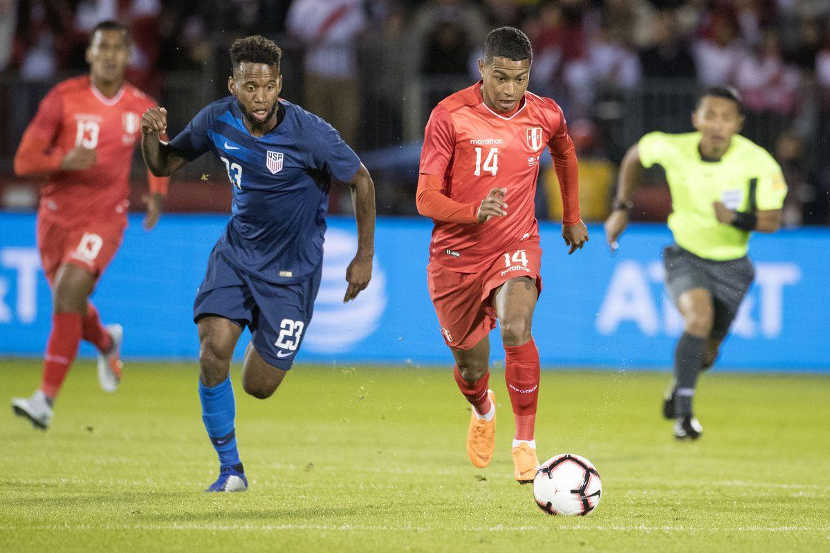 U.S. Men's National Team vs. Peru
