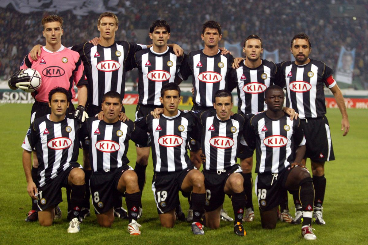 Soccer - UEFA Cup - First Round - Second Leg - Udinese v Panionios
