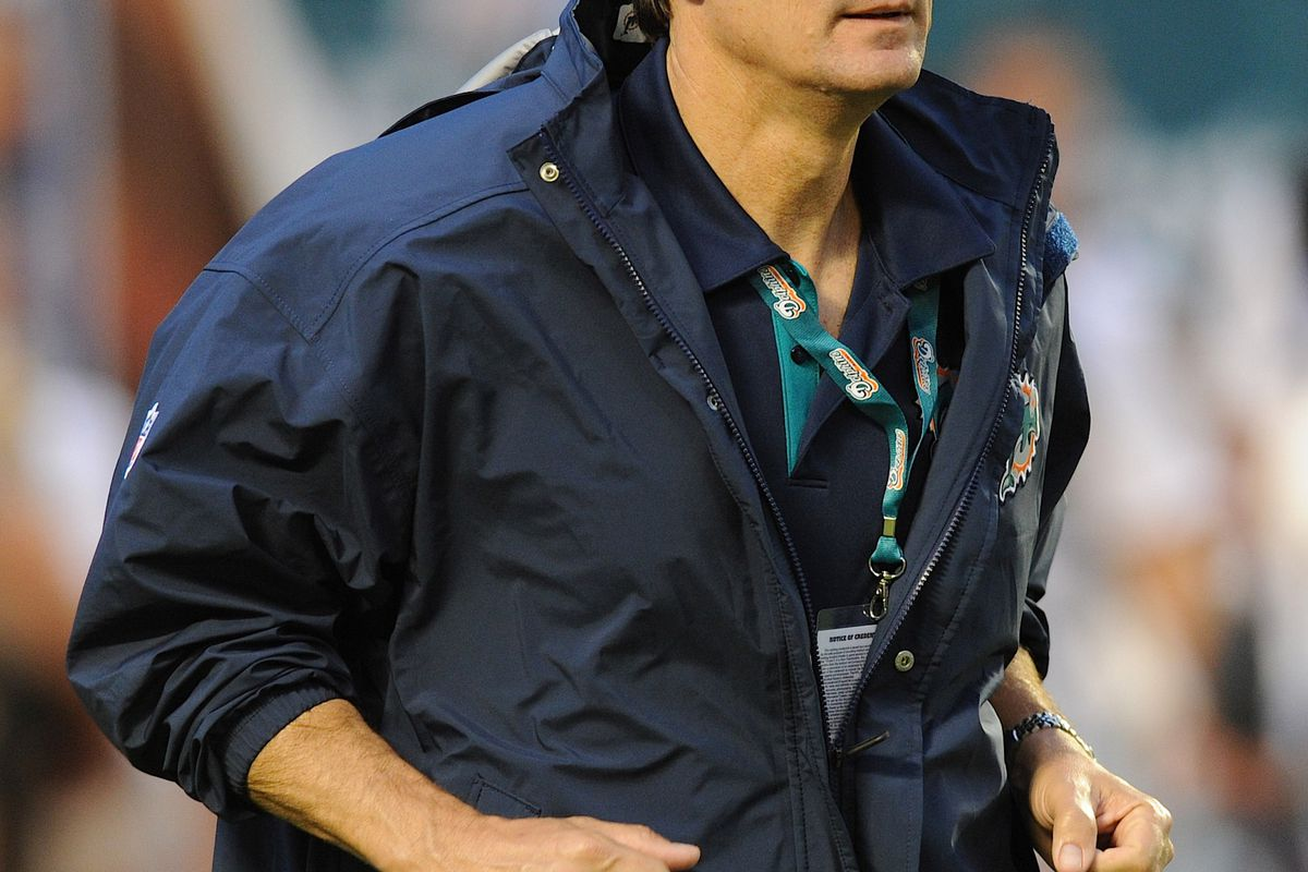 Do you know who this guy is? No? Neither do I.  It is Miami Dolphins chief physician Dr. George Caldwell, Jr. So this is you fun fact for today, we learned who the Dolphins chief physician is.  We can all sleep better at night now.