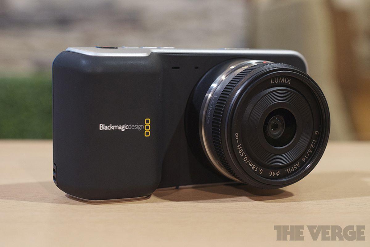 Blackmagic announces pocket cinema camera and 3 995 for Web tv camera