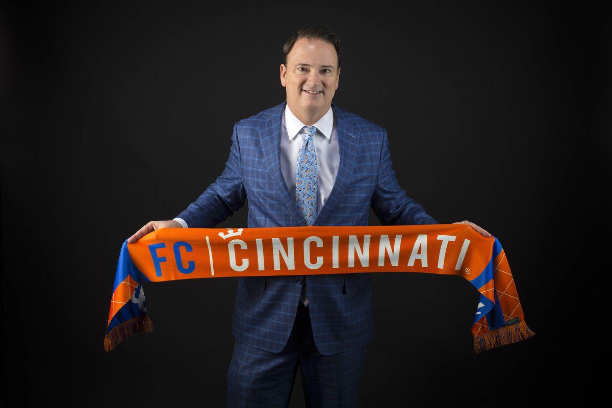 News: FC Cincinnati general manager Jeff Berding