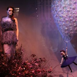 Saks Fifth Avenue's bubble-filled daydream
